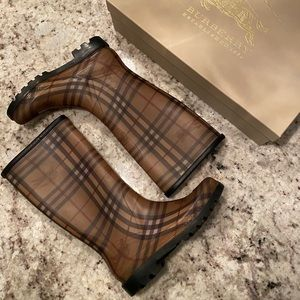 BURBERRY Lisson Rainboots